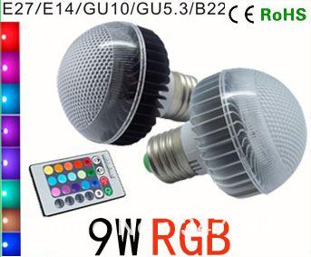 LED spuldze ar tālvadības pulti